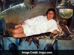 Donald Trump's Bathrobe Pic Hilariously Photoshopped. Mischief Managed