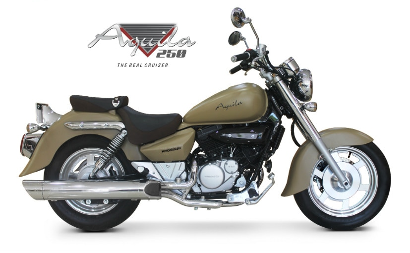 Hyosung Aquila 250 Launched in Limited Edition Colours