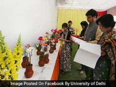Delhi University 59th Annual Flower Show, On-The-Spot Photography Competition on February 23