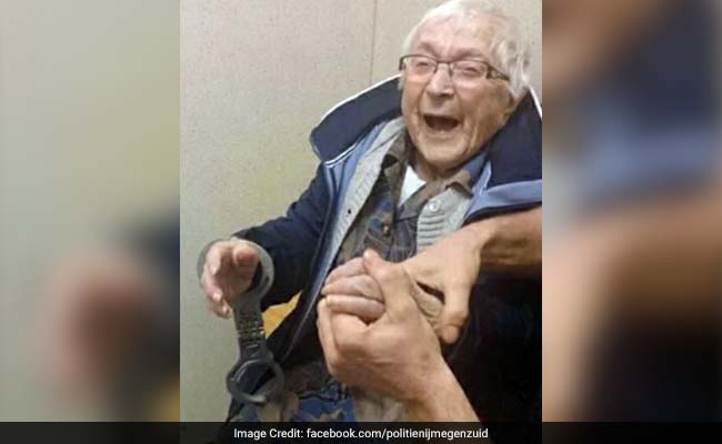 100-year-old woman 'arrested,' 'booked' to cross item off bucket list