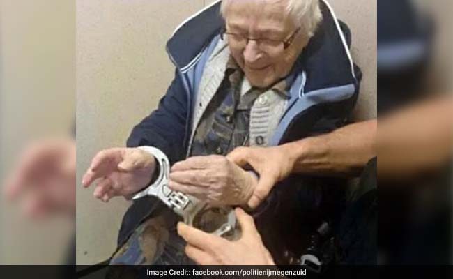 Dutch woman, 99, 'arrested' as part of bucket list