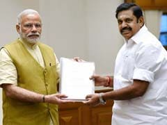 Tamil Nadu Chief Minister Meets PM Modi; Seeks Exemption From NEET