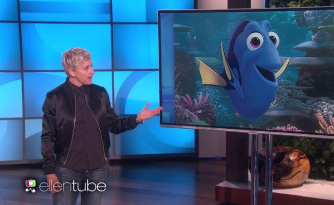 Ellen DeGeneres Uses Finding Dory To Make A Point About Trump's Travel Ban