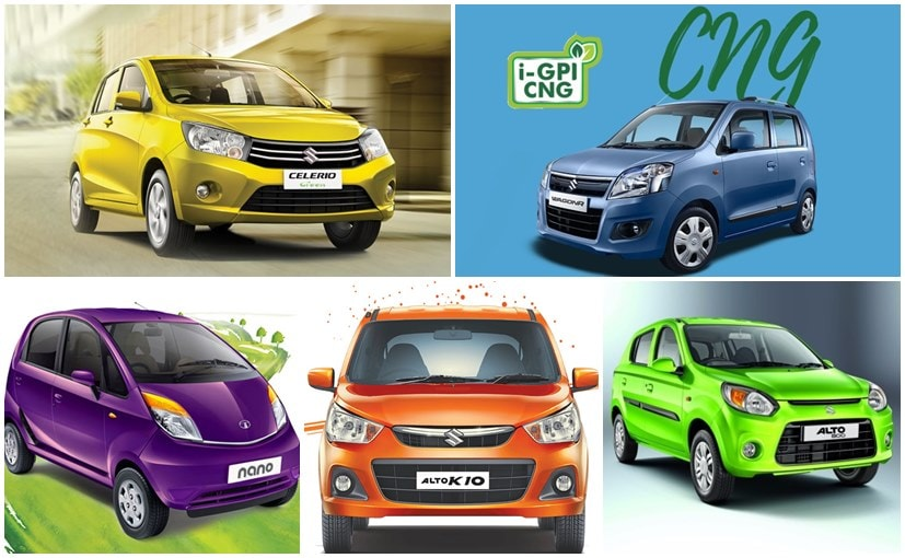 Entry-Level CNG Hatchbacks To Buy In India