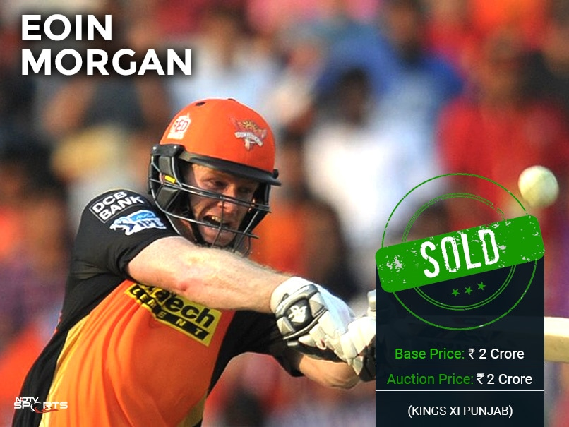 eoin morgan ipl auction ndtv