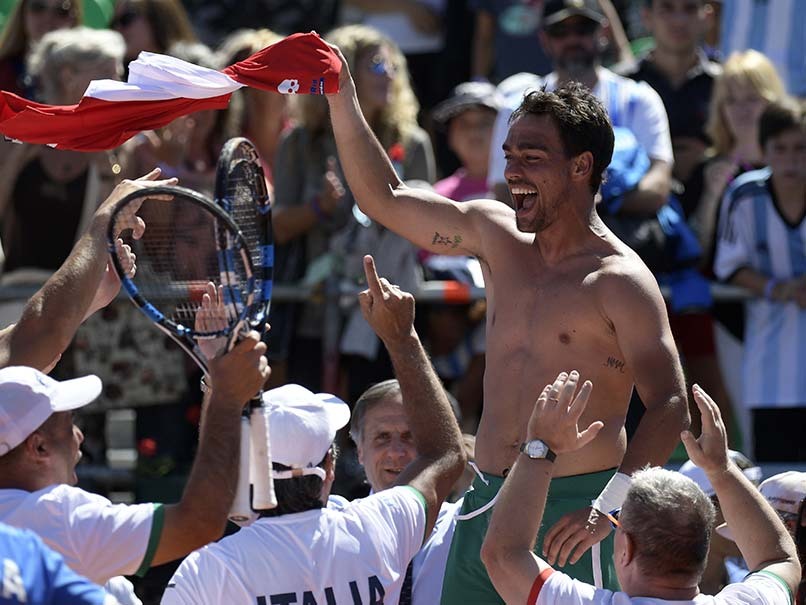 Italy Knock Defending Champions Argentina Out of Davis Cup