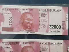2000 के नोट पर लिखा था 'आजाद बैंक ऑफ इंडिया', 'फिल्मी' नोट चलाने वाले गिरोह पर शिकंजा
