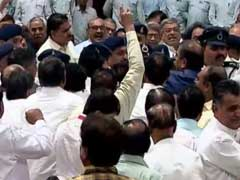 After Tamil Nadu, Gujarat Lawmakers Come To Blows in Assembly
