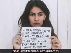 Soldier's Daughter Gurmehar Kaur Alleges Rape Threats Over Post, Given Security