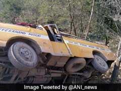 25 Children Injured As School Bus Skids Off Road In Himachal
