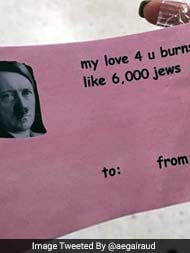Schön University Officials Investigating Hitler Valentineu0027s Day Card Handed Out  On Campus