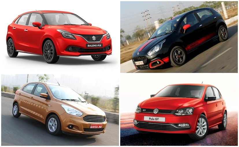 Maruti Suzuki Baleno RS vs Volkswagen Polo GT vs Ford Figo vs Fiat Abarth Punto: Specifications Comparison