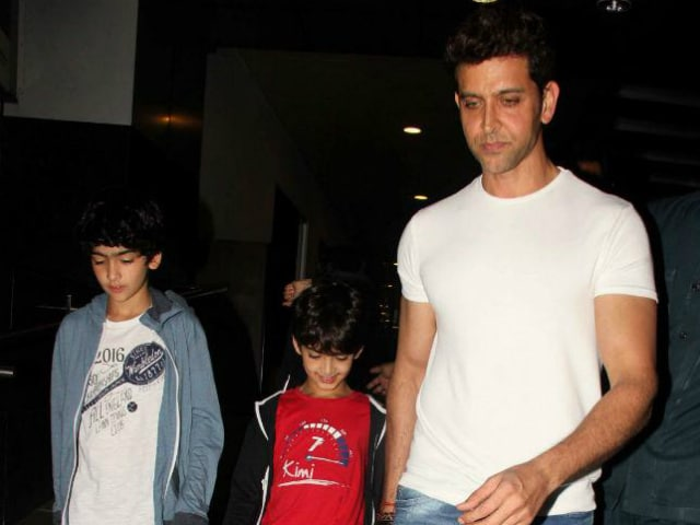 Hrithik Roshan Dashed Off This Angry Tweet About Advert Featuring His Sons