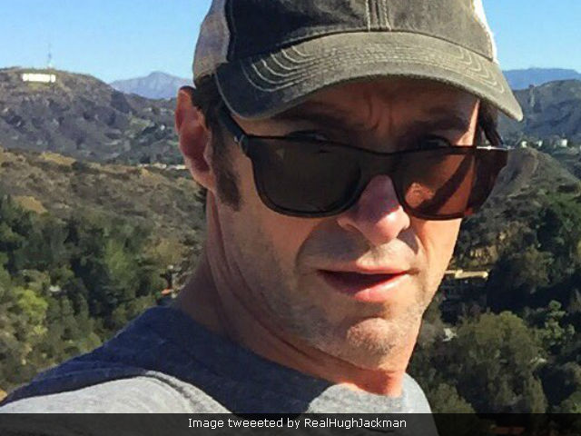 Hugh Jackman Treated For Skin Cancer Again. Tweets Pic, With A Warning