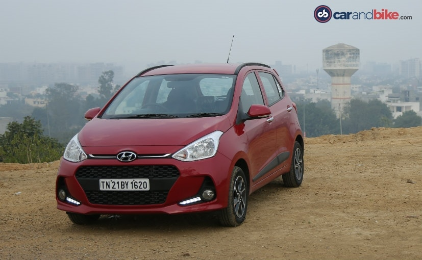 Hyundai Launches The Grand i10 Facelift; Priced At ₹ 4.58 Lakh