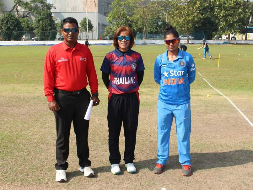 India Thrash Thailand by 9 Wickets in ICC Women's World Cup Qualifier