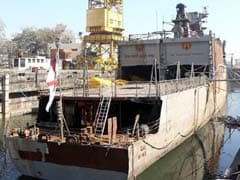 Warship INS Betwa Restored To Upright Position: Navy