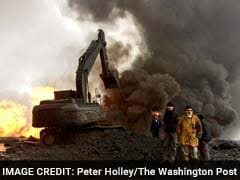 300-Feet High Inferno: On The Front Lines With Oil Workers Battling ISIS