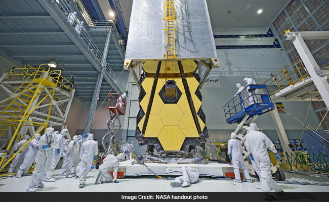 Closing In On Launch: NASA's Gold-Mirrored, $8 Bn Webb Space Telescope