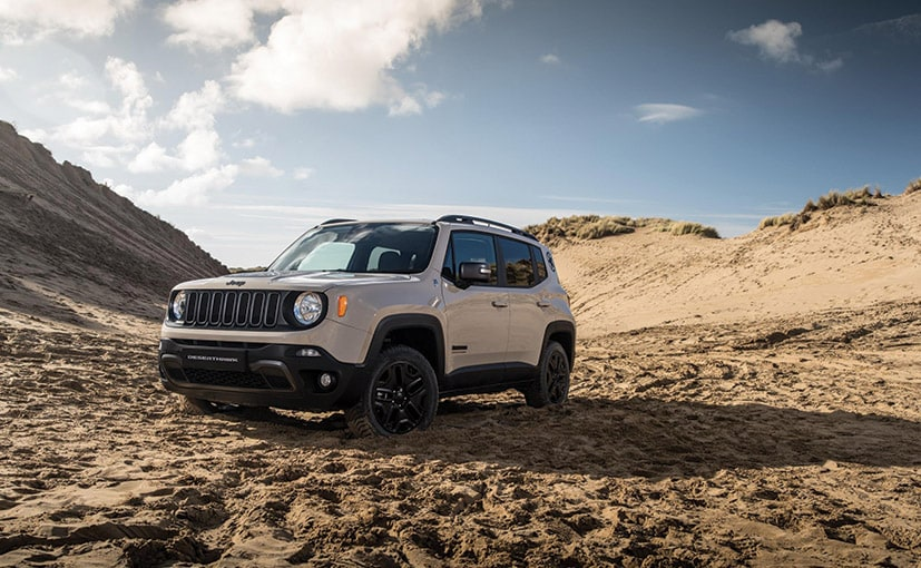 The Jeep Renegade is the automaker's smallest offering globally