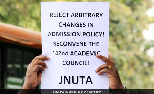 JNUTA: There Is No Law And Order Situation In JNU