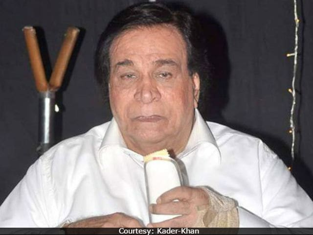 Kader Khan, 79, Is In Canada But Not For Treatment, Says Director Of His Last Film