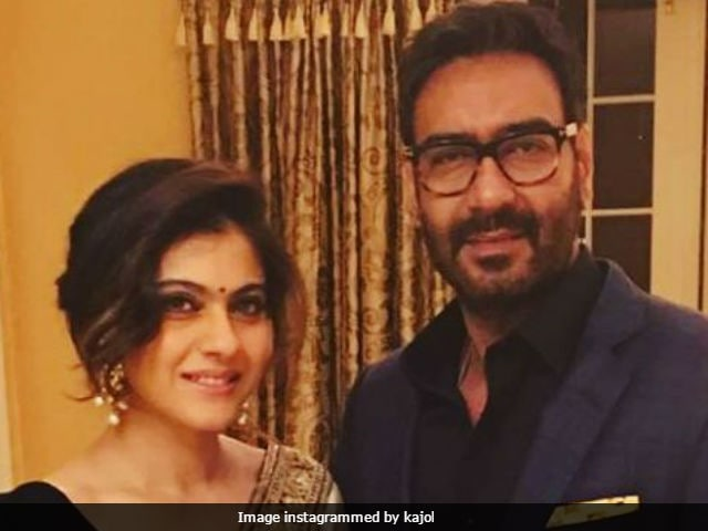 Kajol Shares Heart Warming Picture With Ajay Devgn On Their Anniversary