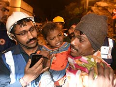 5 Dead, 25 Feared Trapped In Kanpur Building Collapse, 3-Year-Old Rescued