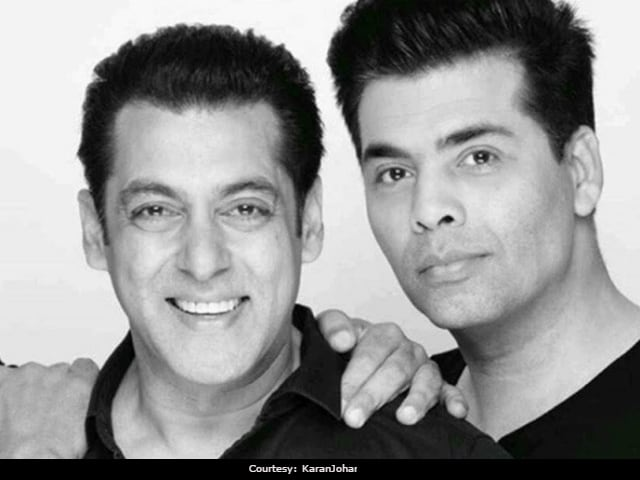 In Which Karan Johar Says He'd Never Compete With Salman Khan At The Box Office