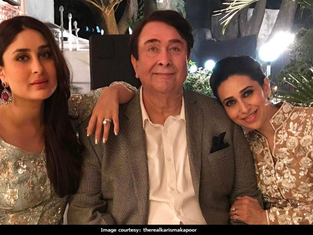 Inside Randhir Kapoor's Party, With Rekha, Amitabh Bachchan, Kareena And Karisma Kapoor