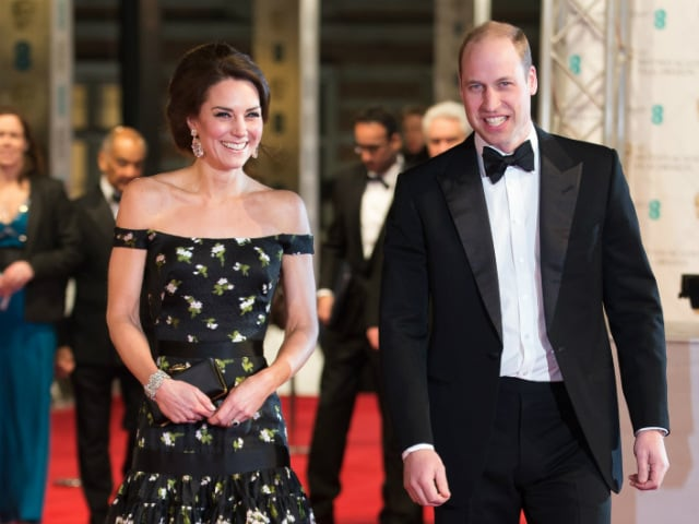 BAFTAs 2017: Kate Middleton, Prince William Made A Royal Splash