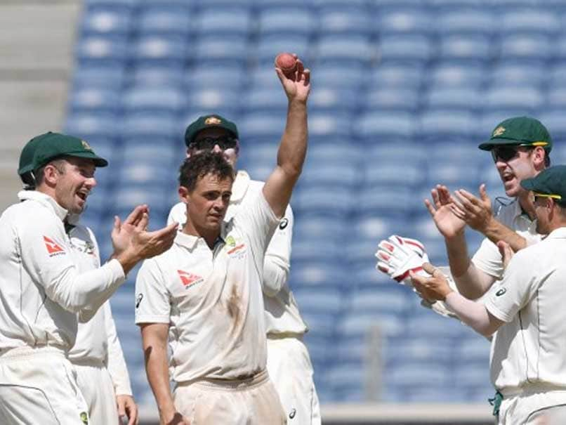 India vs Australia, 1st Test: Steve O'Keefe Spins Visitors To Massive 333-Run Win