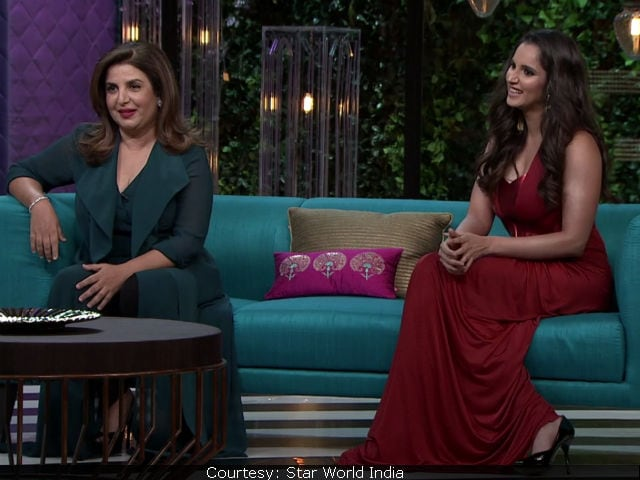 Koffee With Karan 5: Hey Parineeti Chopra, Sania Mirza Wants You To Have A Boyfriend
