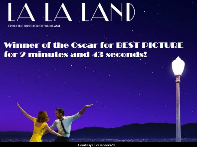 Oscars 2017: La La Land's Short-Lived Glory Is Subject Of Hilarious Twitter Jokes