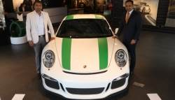 Porsche Delivers India's First Limited Edition 911 R In Bengaluru