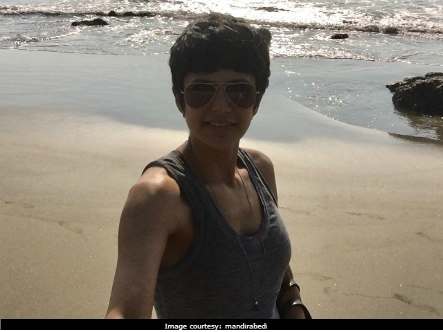 Mandira Bedi Is Really Enjoying Her Trip To Goa. Pics From Her Instagram