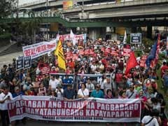 Thousands Protest In Manila As President Duterte Jails Top Critic
