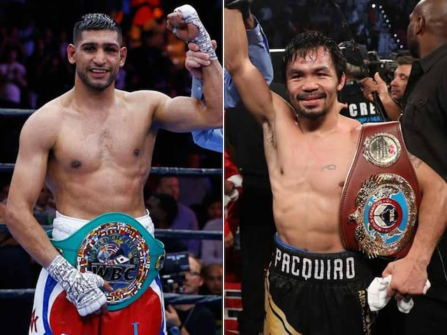 Manny Pacquiao To Fight Britains Amir Khan In April