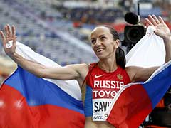Russia's Mariya Savinova Banned, Stripped Off London Olympics Gold For Doping