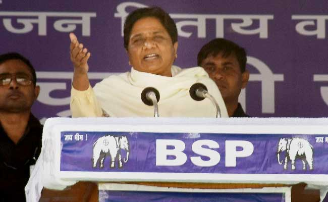 UP Elections 2017: BJP To Pay For Fielding 'Baagi' And 'Daagi' Candidates, Says Mayawati