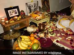 Miley Cyrus Chooses Lakshmi Puja Over Super Bowl