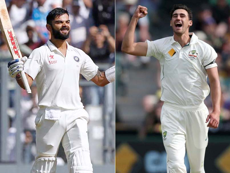 India vs Australia, Face-Off: Virat Kohli vs Mitchell Starc