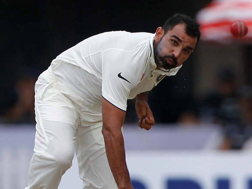 Mohammed Shami Eyeing Comeback Into Indias Test Fold
