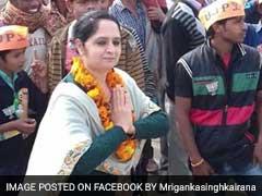यूपी चुनाव: बीजेपी सांसद हुकुम सिंह की बेटी मृगांका पहली बार चुनावी मैदान में, भाई से है टक्कर
