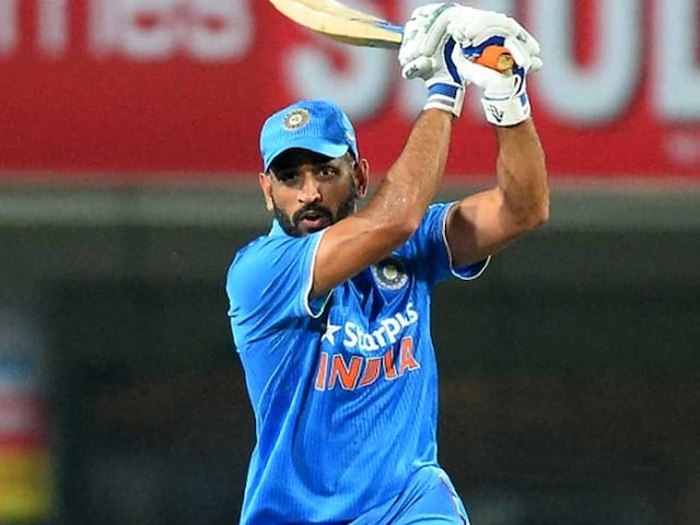 MS Dhoni Lights Up Vijay Hazare Trophy With Blistering Century