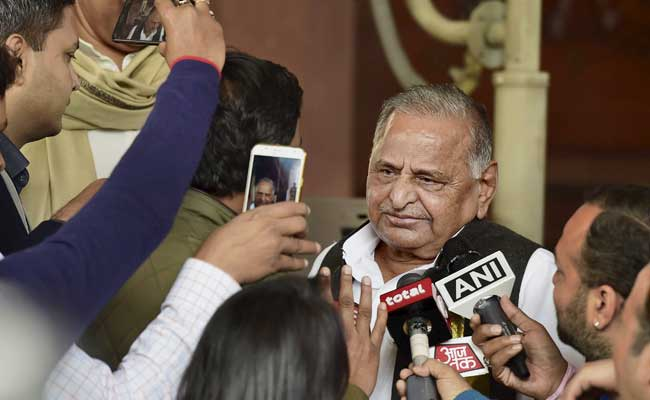 Mulayam Singh Yadav Missing On Samajwadi Party's List Of Campaigners
