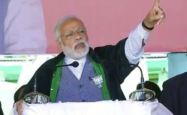 Congress spreading lies about Naga Accord: PM Narendra Modi