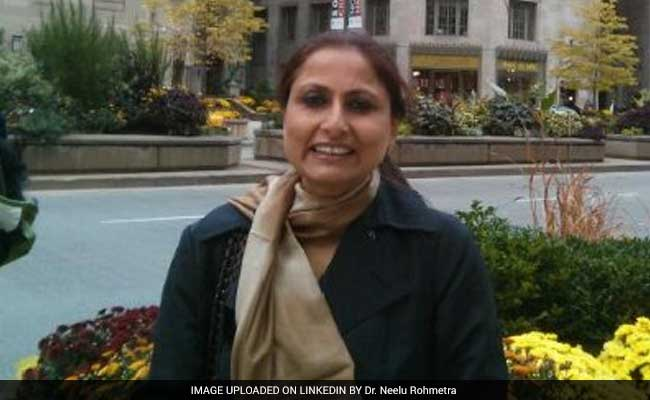 Dr Neelu Rohmetra, First Woman Indian Institute of Management Director