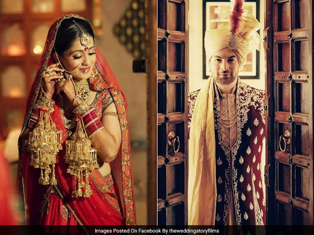 Neil Nitin Mukesh And Rukmini Sahay Look Regal In These Wedding Pics