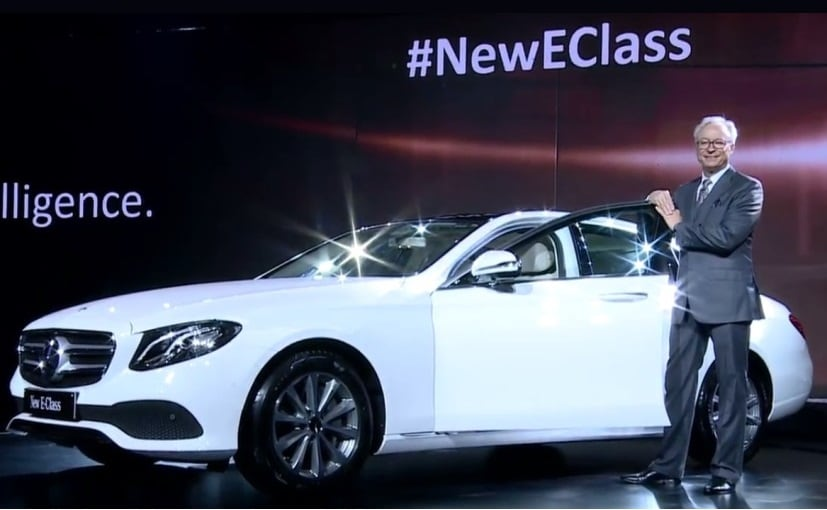 2017 mercedes benz e class launched prices start at rs for New mercedes benz e class 2017
